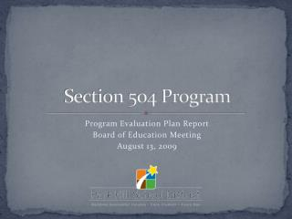 Section 504 Program