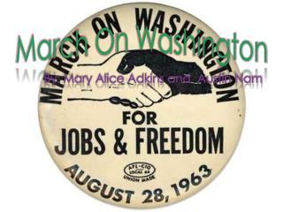 March  O n Washington