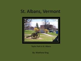 St. Albans, Vermont