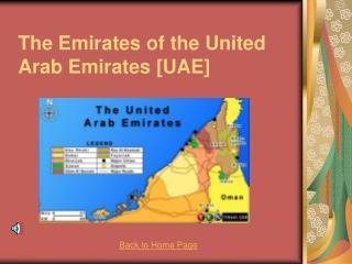The Emirates of the United Arab Emirates [UAE]