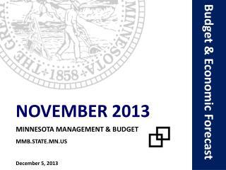 Budget & Economic Forecast