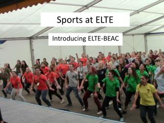 Sports at ELTE