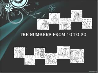 THE NUMBERS FROM 10 TO 20