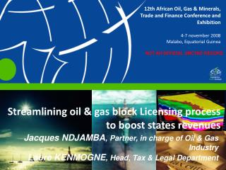Streamlining oil  gas block Licensing process to boost states revenues