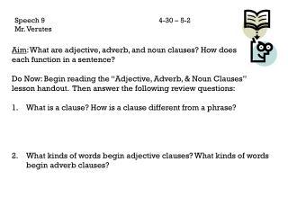 Speech 94-30 – 5-2 Mr.  Verutes