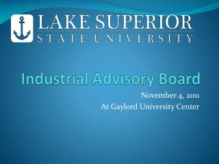 Industrial Advisory Board