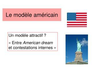Le modèle américain