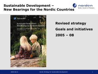 Sustainable Development –  New Bearings for the Nordic Countries