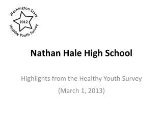 Nathan Hale High School