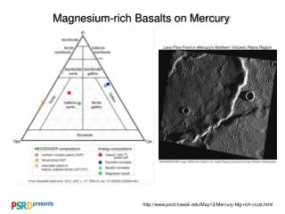 Magnesium-rich Basalts on Mercury