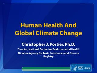 Human Health And Global Climate Change