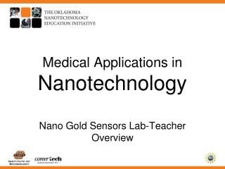 Medical Applications in  Nanotechnology