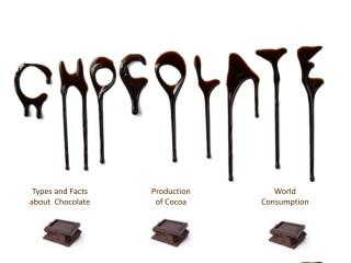 Types and Facts  about   Chocolate