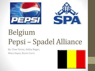 Belgium Pepsi – Spadel Alliance