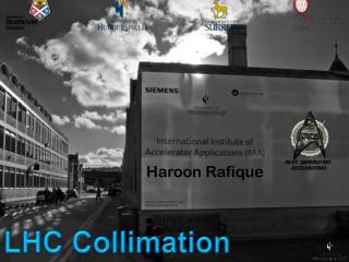 LHC Collimation
