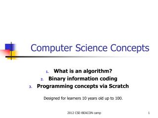 Computer Science Concepts