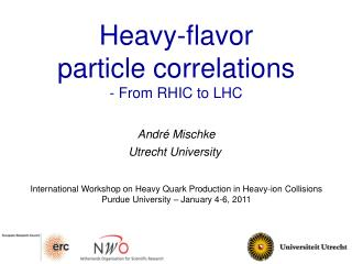 Heavy - flavor  particle  correlations -  From RHIC to LHC