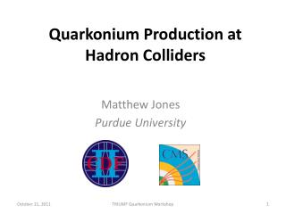 Quarkonium  Production at Hadron Colliders