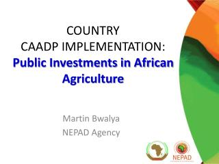 COUNTRY  CAADP IMPLEMENTATION: Public Investments in African Agriculture