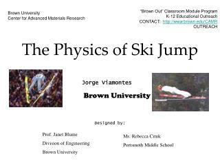 The Physics of Ski Jump