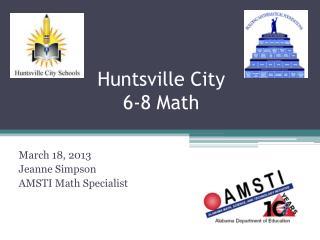 Huntsville City  6-8 Math