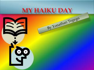 My haiku day