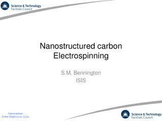 Nanostructured carbon Electrospinning