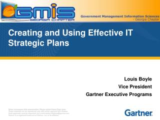 Creating and Using Effective IT Strategic Plans