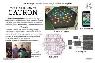 ECE 477 Digital  Systems Senior  Design Project   Spring 2013