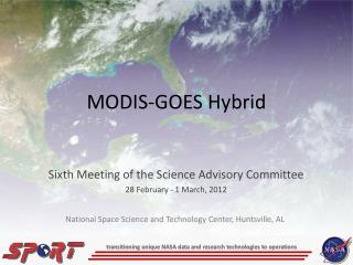MODIS-GOES  Hybrid