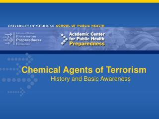 Chemical Agents of Terrorism