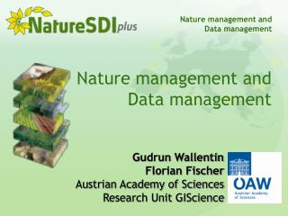 Nature management and Data management