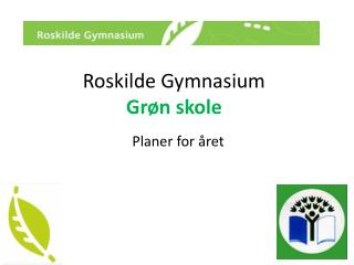 Roskilde Gymnasium Grøn skole