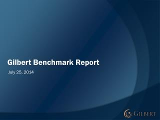 Gilbert Benchmark Report