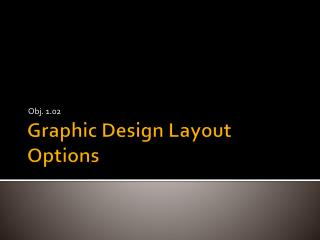 Graphic Design Layout Options