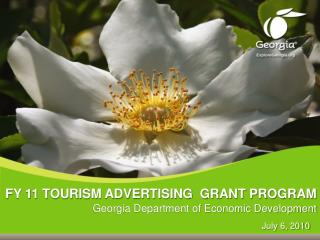 FY 11 TOURISM ADVERTISING  GRANT PROGRAM