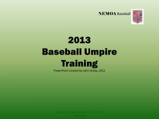 NEMOA  Baseball