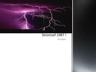 Stromsof  1987 !
