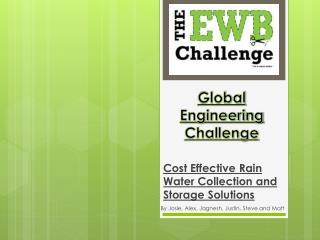 Global Engineering Challenge