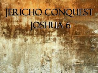 Jericho Conquest