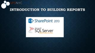 Introduction to Building Reports