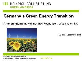 Germany's Green Energy Transition