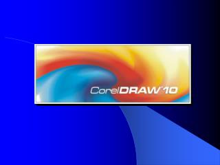 Corel 10 Software Package  Introduction in  CorelDRAW 10