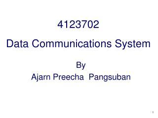 4123702 Data Communications System