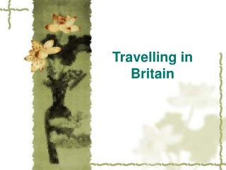 Travelling in Britain