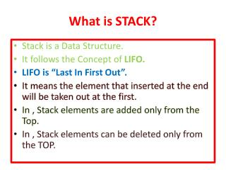 What is STACK?
