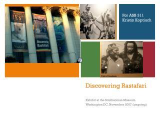 Discovering Rastafari