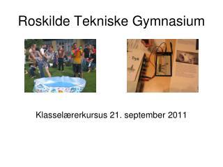 Roskilde Tekniske Gymnasium