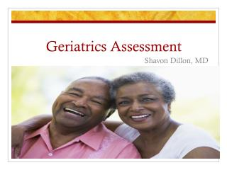 Geriatrics Assessment