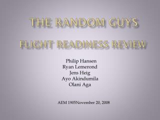 The Random Guys